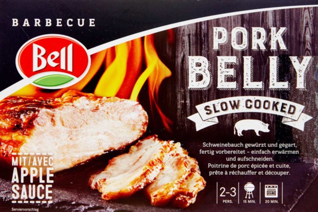 Packaging Bell Barbecue Pork Belly créez une marque forte et durable